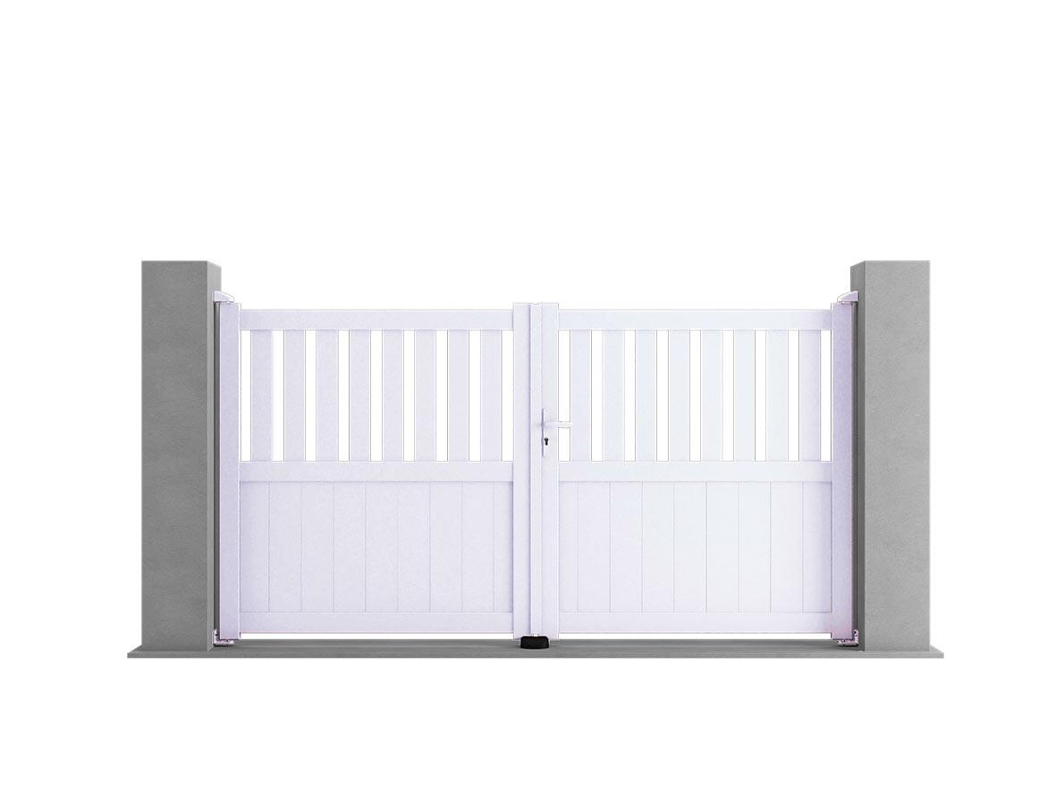 Portail aluminium Combo par Ceklo