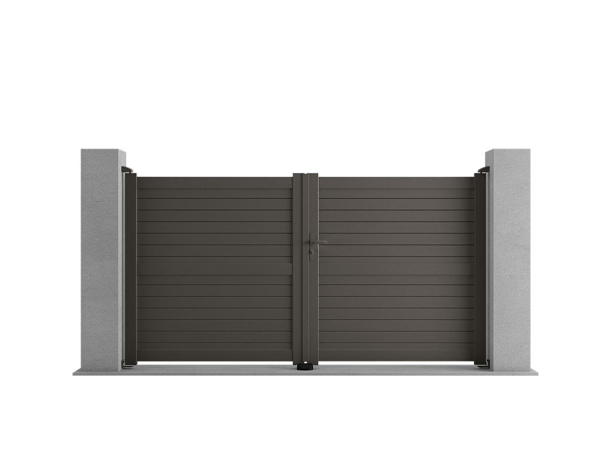 Portail aluminium Mismo par Ceklo