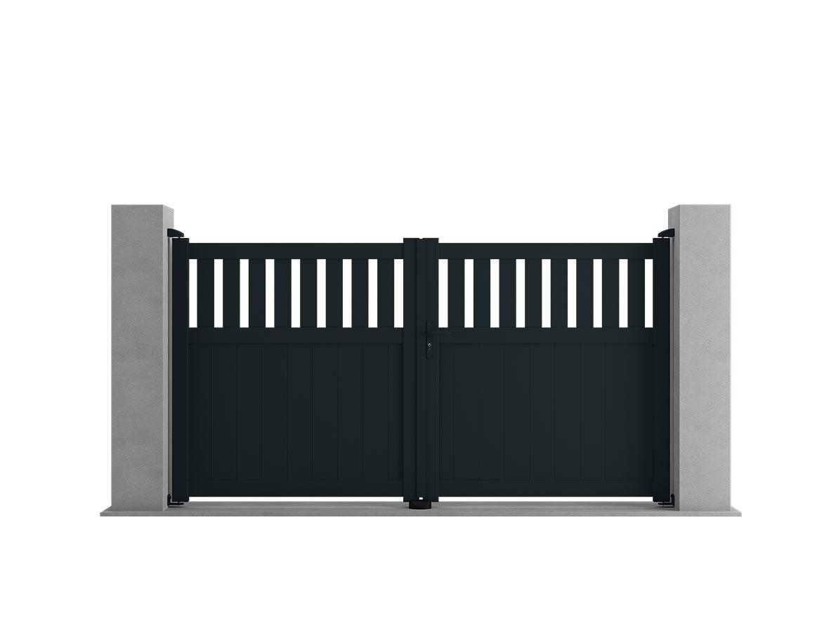 Portail aluminium Pecko par Ceklo