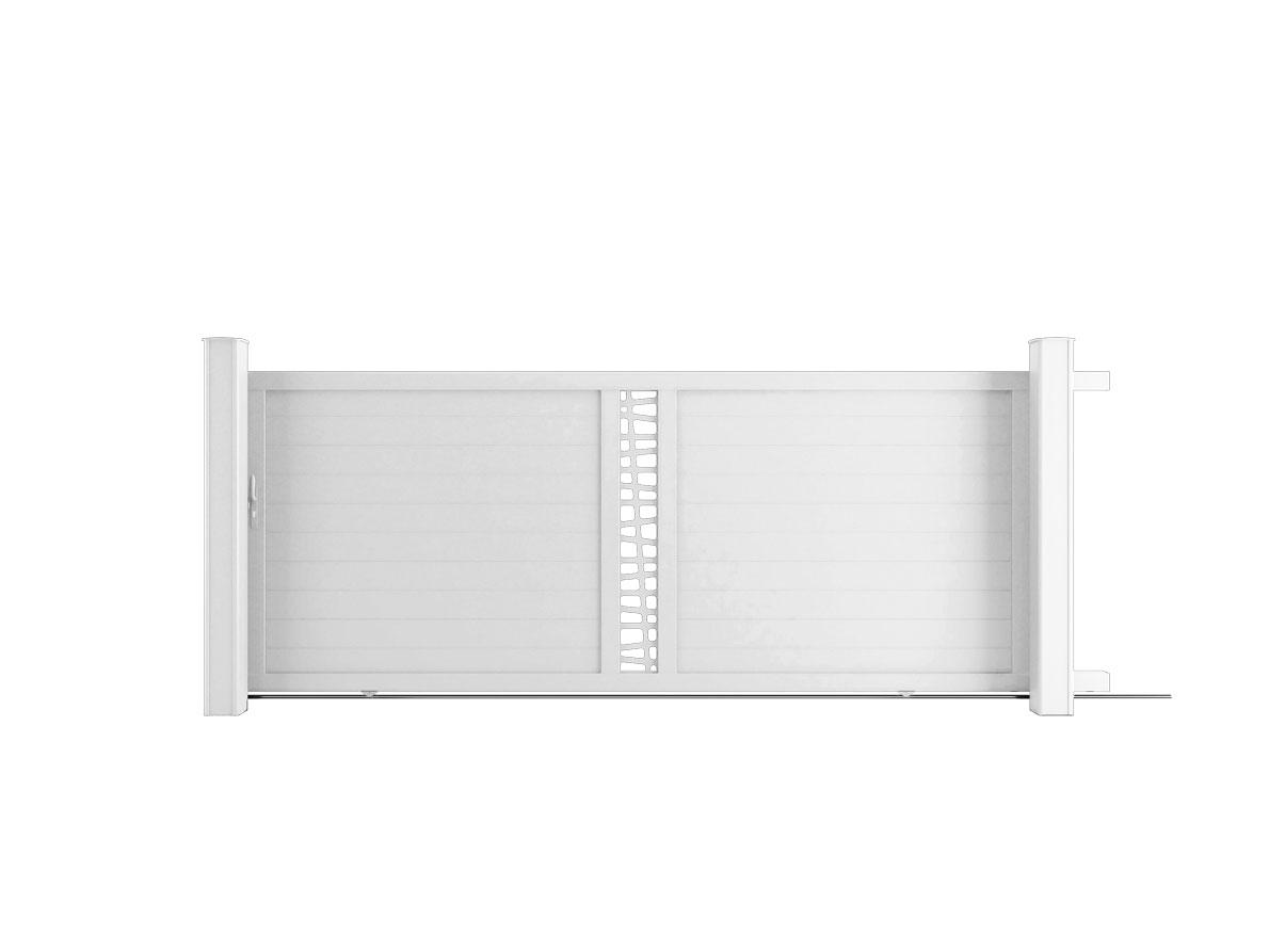 Portail aluminium Base Boldo par Ceklo