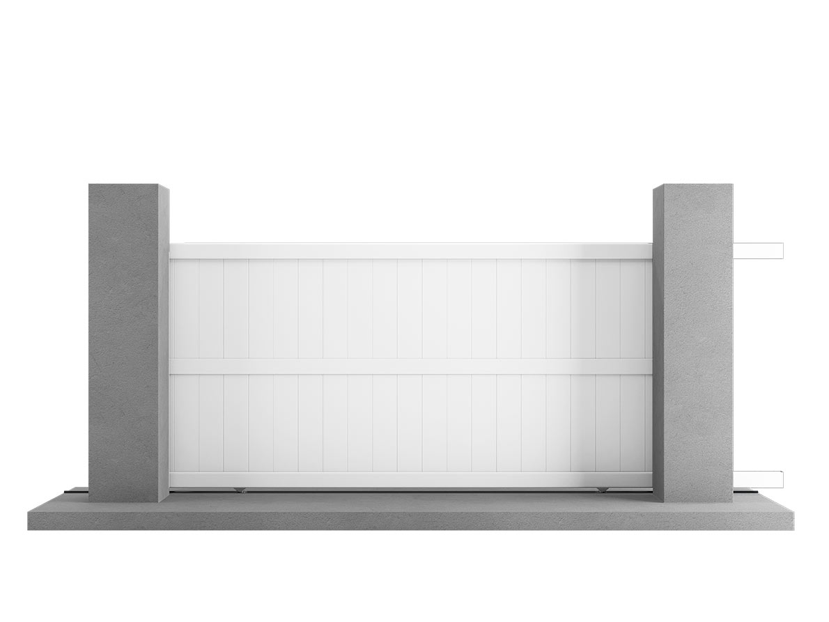Portail aluminium Helio par Ceklo