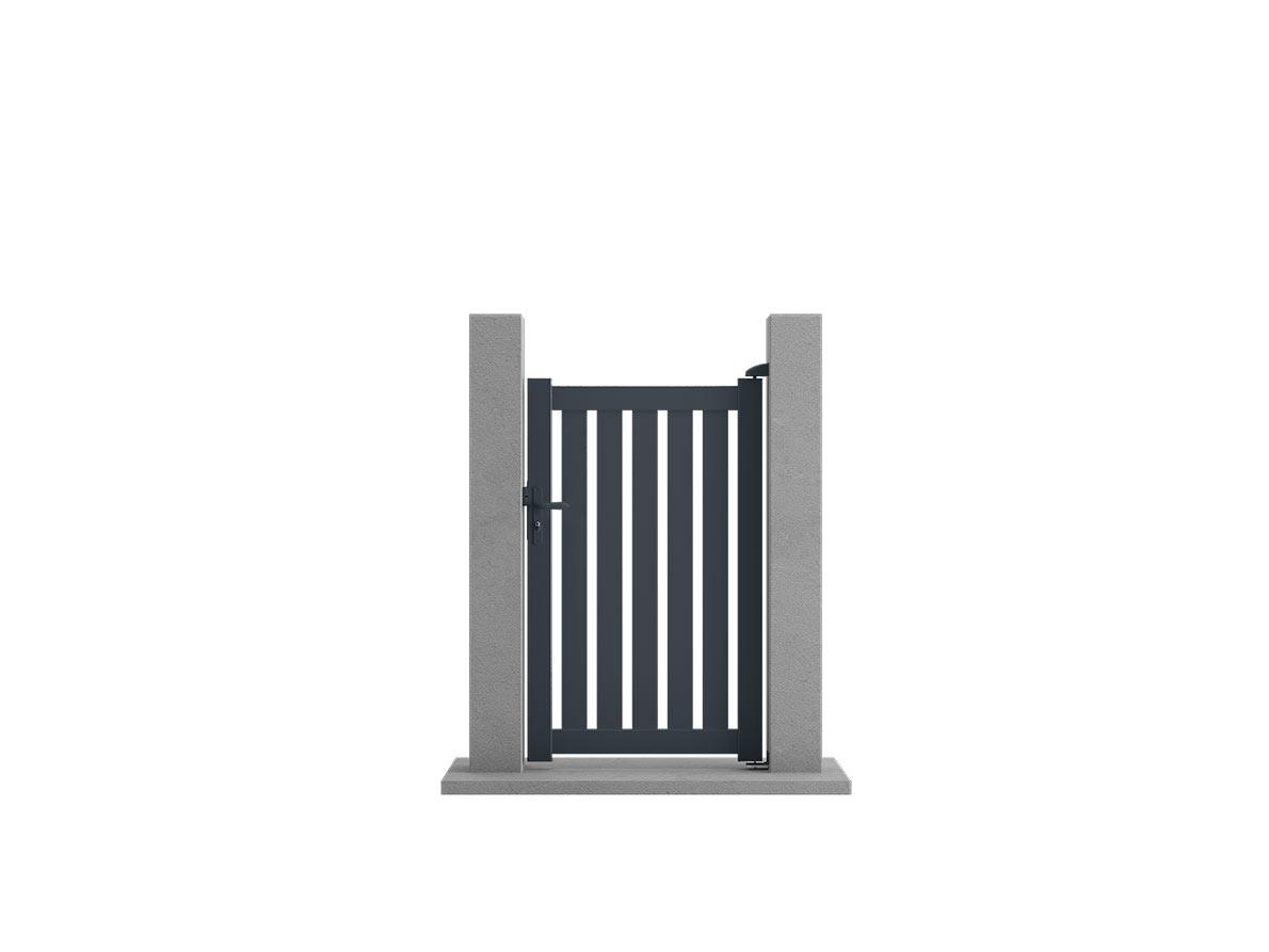 Portillon aluminium Bosco par Ceklo
