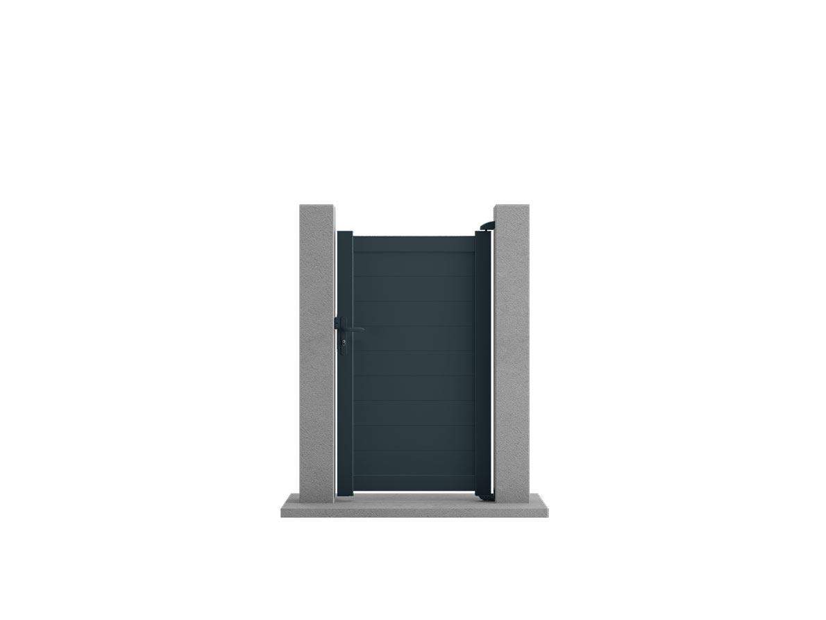 Portillon aluminium Bravo par Ceklo