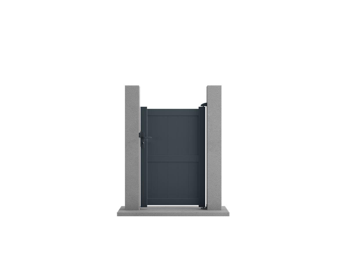 Portillon aluminium Helio par Ceklo