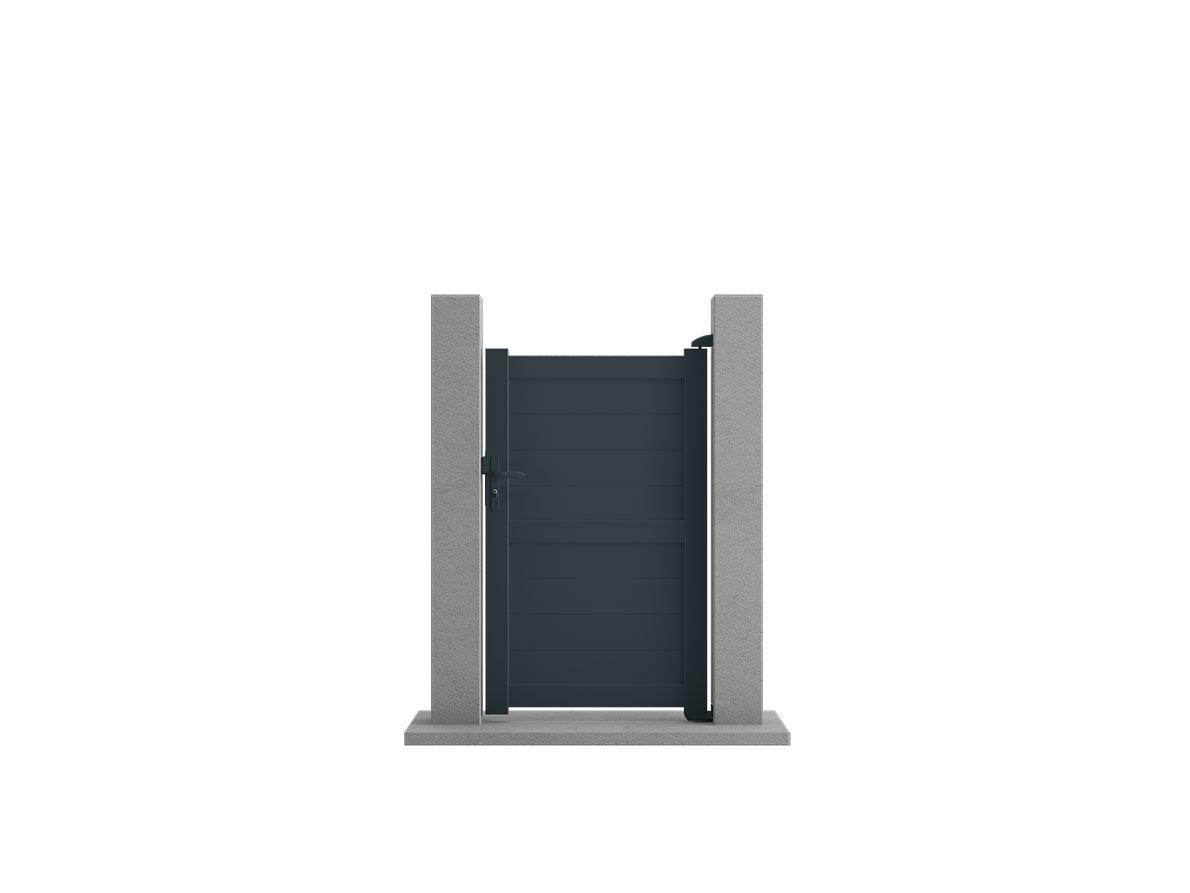 Portillon aluminium Kendo par Ceklo