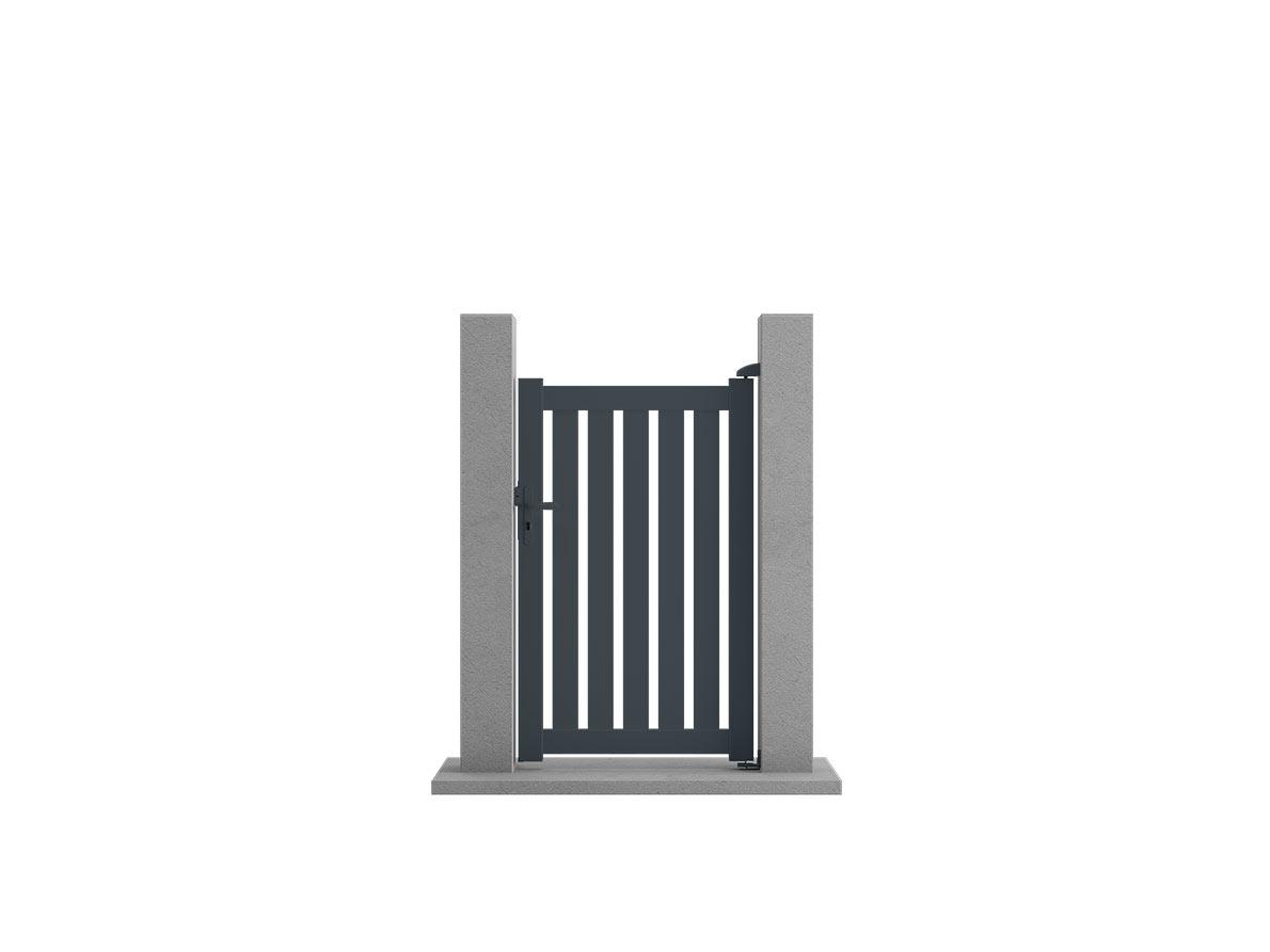 Portillon aluminium Salto par Ceklo